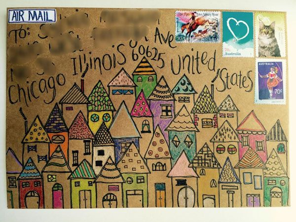 League of Extraordinary Penpals: Mail art from our members