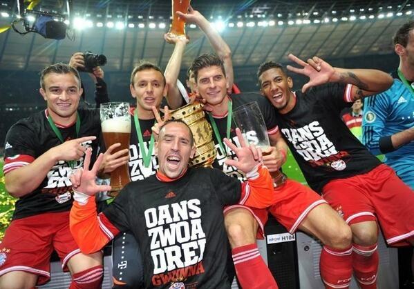 Paulaner El Salvador felicita al FC Bayern München!