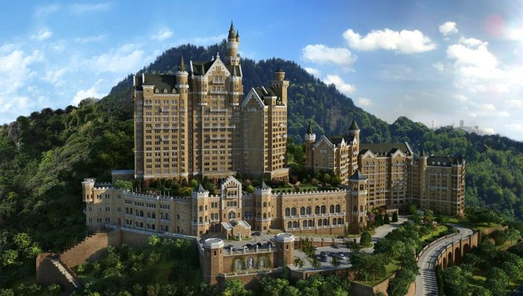 The Castle Hotel in Dalian, China