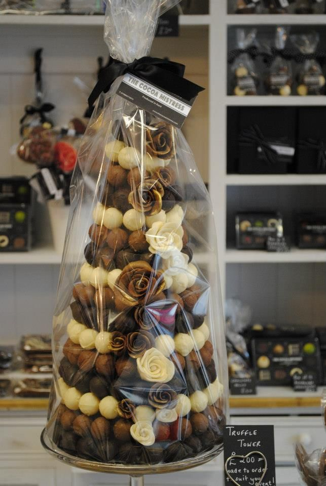 wedding cake truffles truffle tower on show at road popup shop cakes 26727