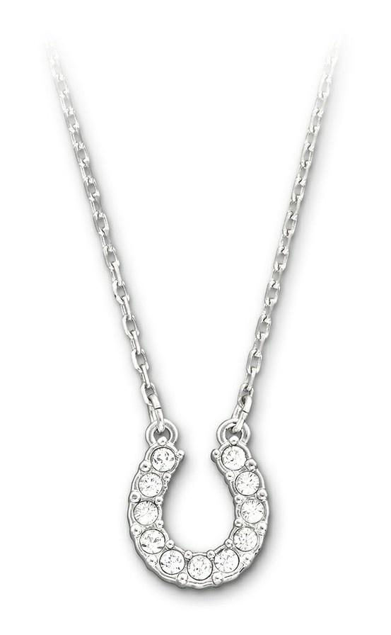 Swarovski, Towards: Horseshoe Necklace, $140
