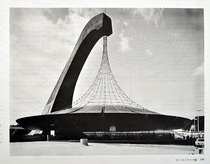 TANGÉ KENZO (1913-2005) - ZUSHU EXPO'70 (ATLAS) Osaka, Assoc