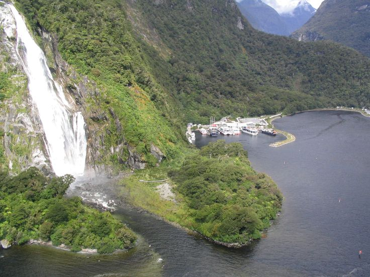 Bowen Falls and Harbour