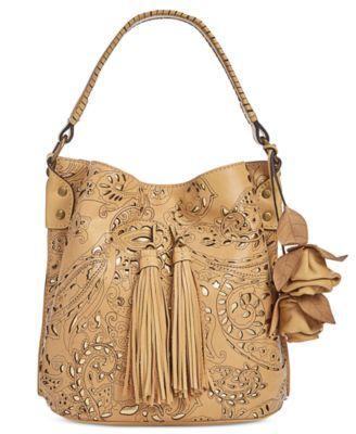Patricia Nash Laser Lace Otavia Bucket Bag | macys.com