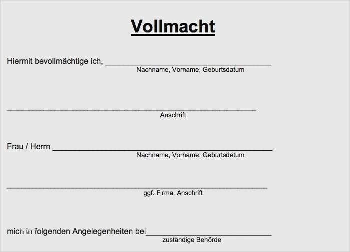 28 Genial Vollmacht Vorlage Kfz Zulassung Ideen In 2020 Vollmacht Vorlagen Word Briefpapier Vorlage