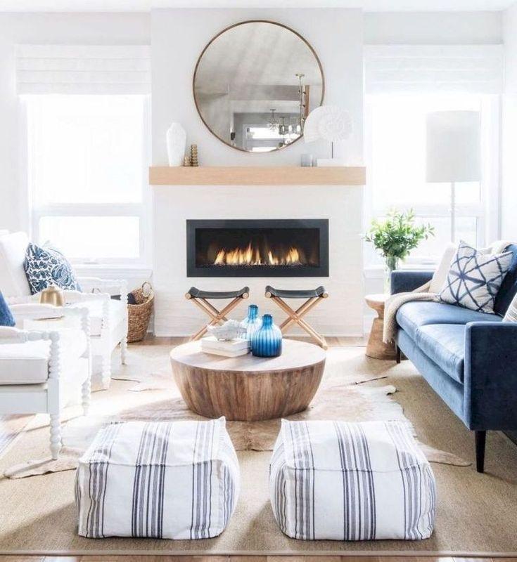 43 Fabulous Farmhouse Living Room Design Ideas Living Room