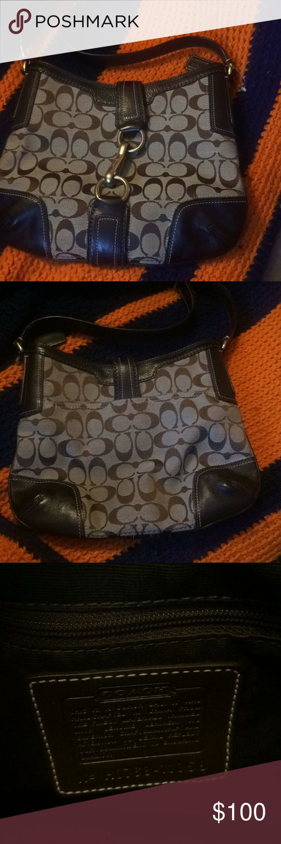 Authentic coach hobo purse Brand new authentic coach purse. Comes with a gift bag to hold the purse. Coach purse number H0768-11058. Coach Bags Hobos