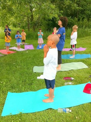 great children's yoga website-