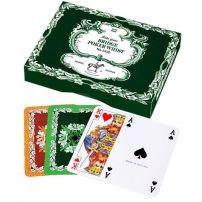 Karty Piatnik Liście dębu - popularne, klasyczne  #karty #piatnik