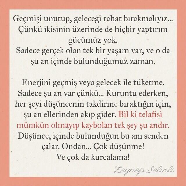 (Psikolog Zeynep Selvili)