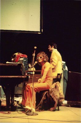 Michel Polnareff (26/10/1975) @ForestNational during rehearsals