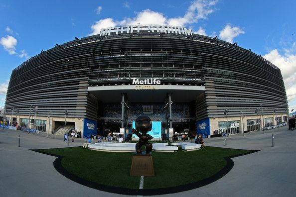 MetLife Stadium is seen prior to the 2012 NFL season opener between the New York Giants and the Dallas Cowboys on September 5, 2012 in…