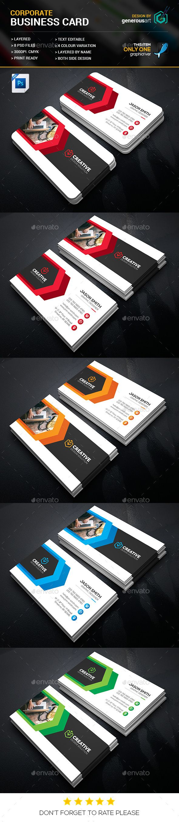 Best 25 corporate business ideas on pinterest cool powerpoint corporate business cards magicingreecefo Image collections