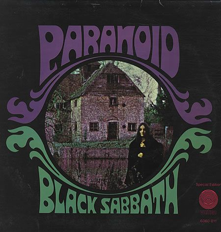 Black Sabbath's Paranoid- 1st time punish in a car ride to listen to it over and over again and then....forever my jam lol