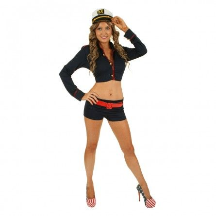 Womens Sexy Sailor Costume