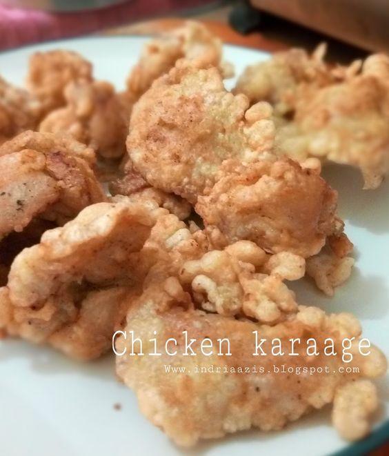 Ayam karage ini sangat cocok buat bekal anak2 sekolah, resepnya yang simpel dan rasanya yang Uenak dijamin anak2 pasti suka , resep asli D...