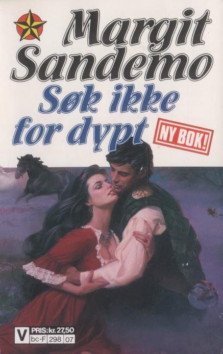 """""""Søk ikke for dypt - Sandemo-serien 39"""" av Margit Sandemo"""