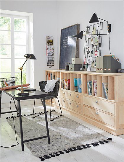 1000 images about arbeitszimmer on pinterest retro design white lamps and house doctor. Black Bedroom Furniture Sets. Home Design Ideas