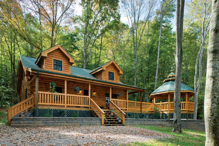 Building A Dream Log Cabin in Less Than Six Months