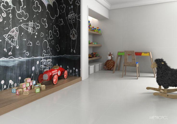 #Dormitorio #niños #juegos #cerámica #porcelana #ideasparadormitorios #cuartodejuegos #Metropol