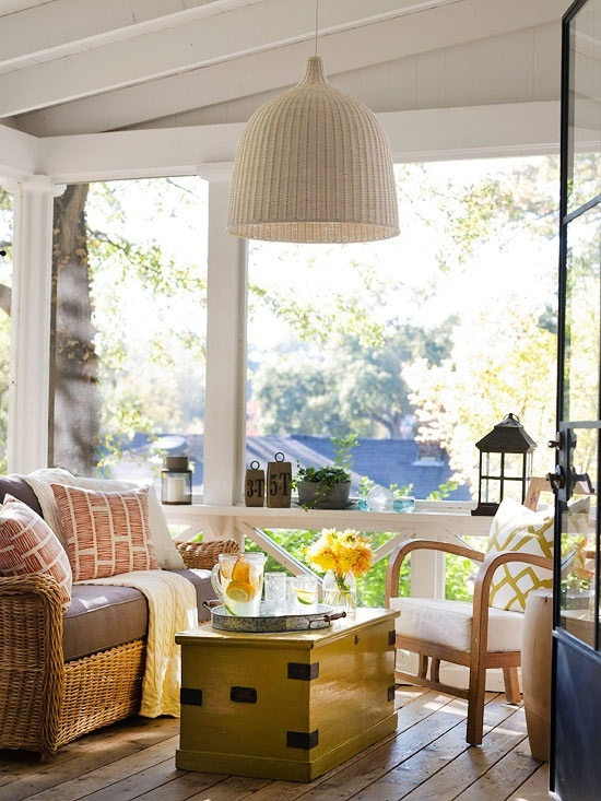 Screen Room Design Ideas: 53 Best Images About Sun Porches On Pinterest