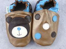 Hobea-Germany - Zapatos para bebé, diseño de fresas Schmetterline Talla:20/21 (12-18 Monate)
