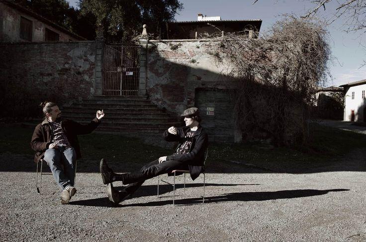 Lorenzo e Francesco alla ricerca del tempo. #nullame #madeinitaly #italiandesign