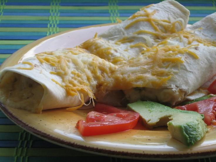 Mom\'s Chicken Enchiladas