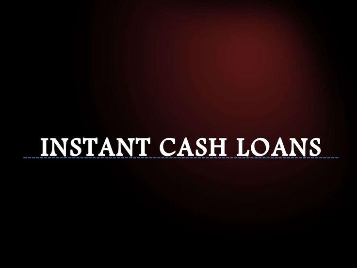 Instant Cash Loans by instantcashloans.ca via slideshare