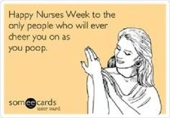 10 Fun Facts & Quotes For The National Nurses Week: http://www.nursebuff.com/2014/05/nursing-week-quotes-and-facts/
