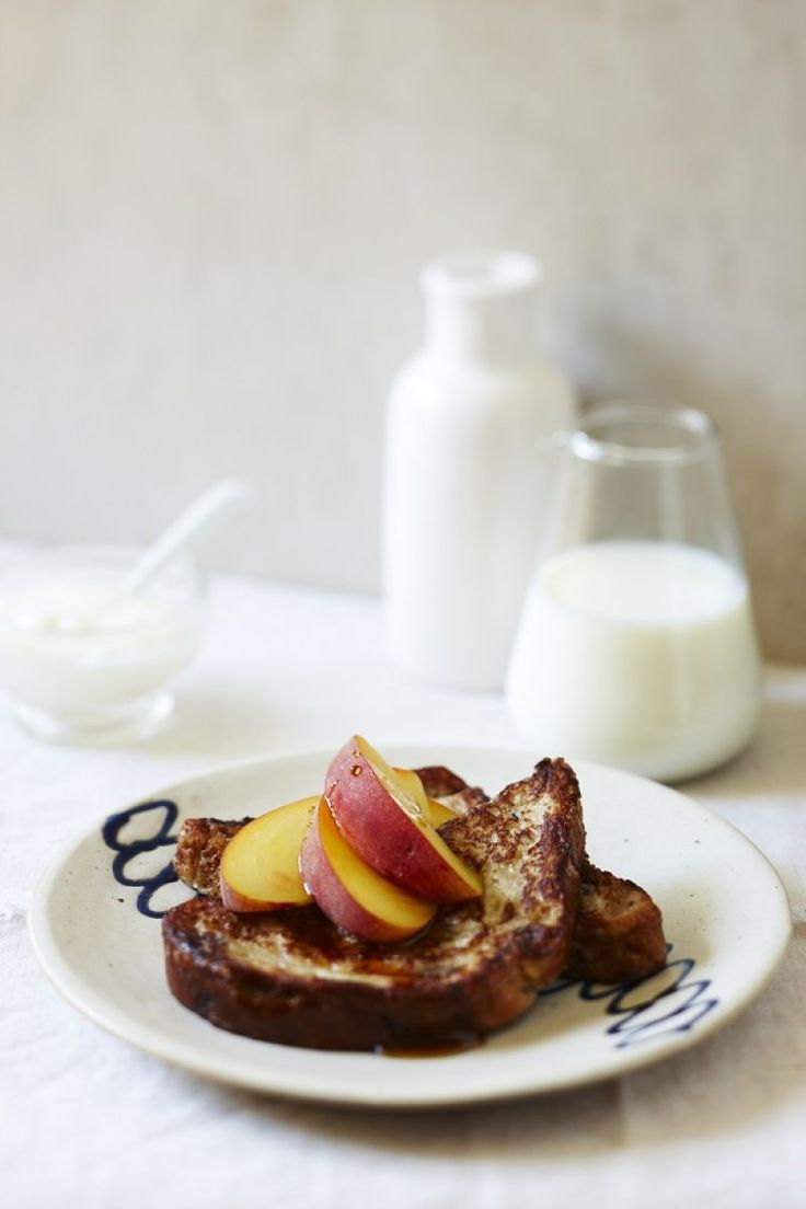 A quick and simple weekend breakfast treat.