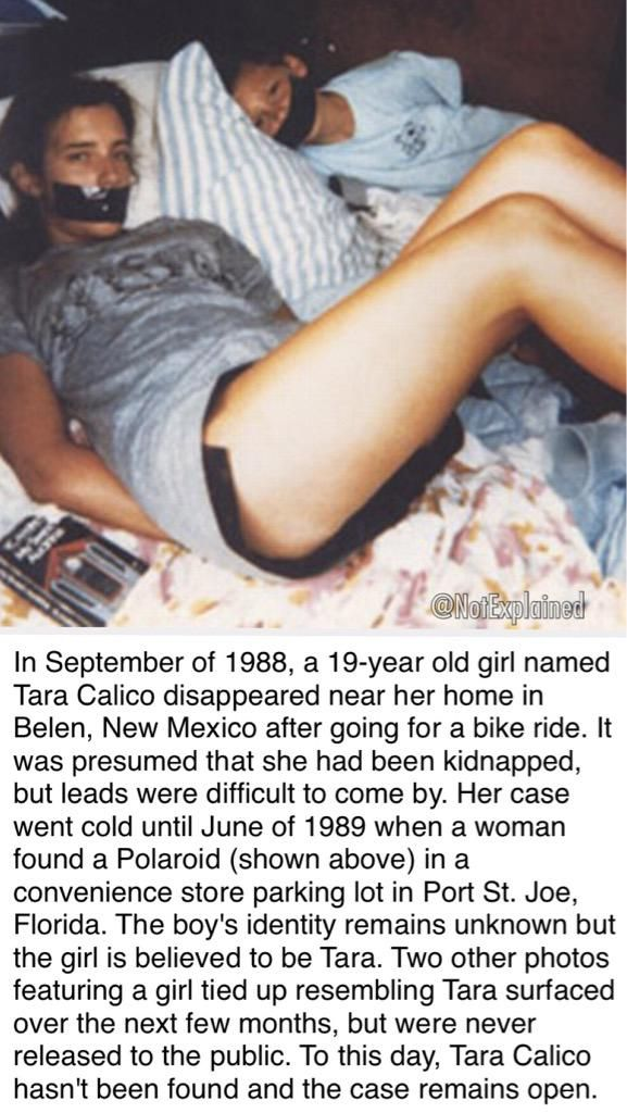 The unsolved disappearance of Tara Calico.