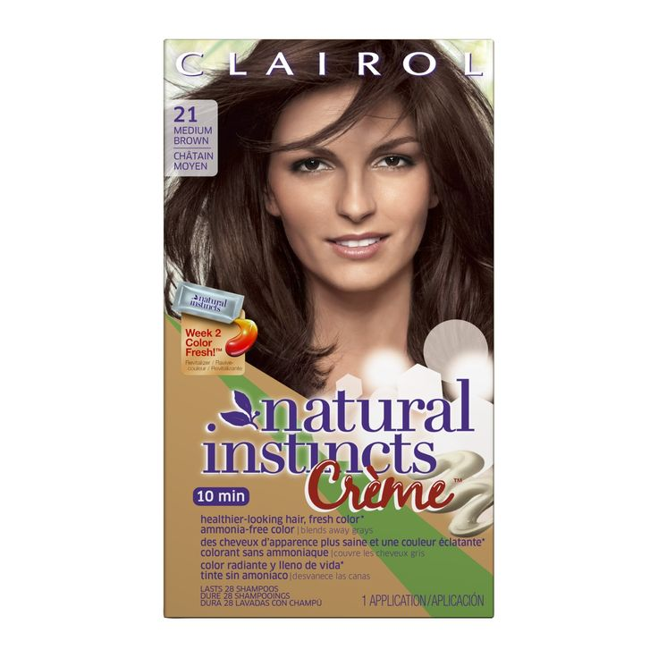Clairol Natural Instincts Crème Hair Color - Rich Medium Brown, Rich Medium Brown-21