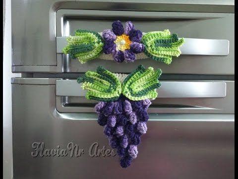 Passo a Passo Frutinhas de Crochê Uva por JNY Crochê - YouTube