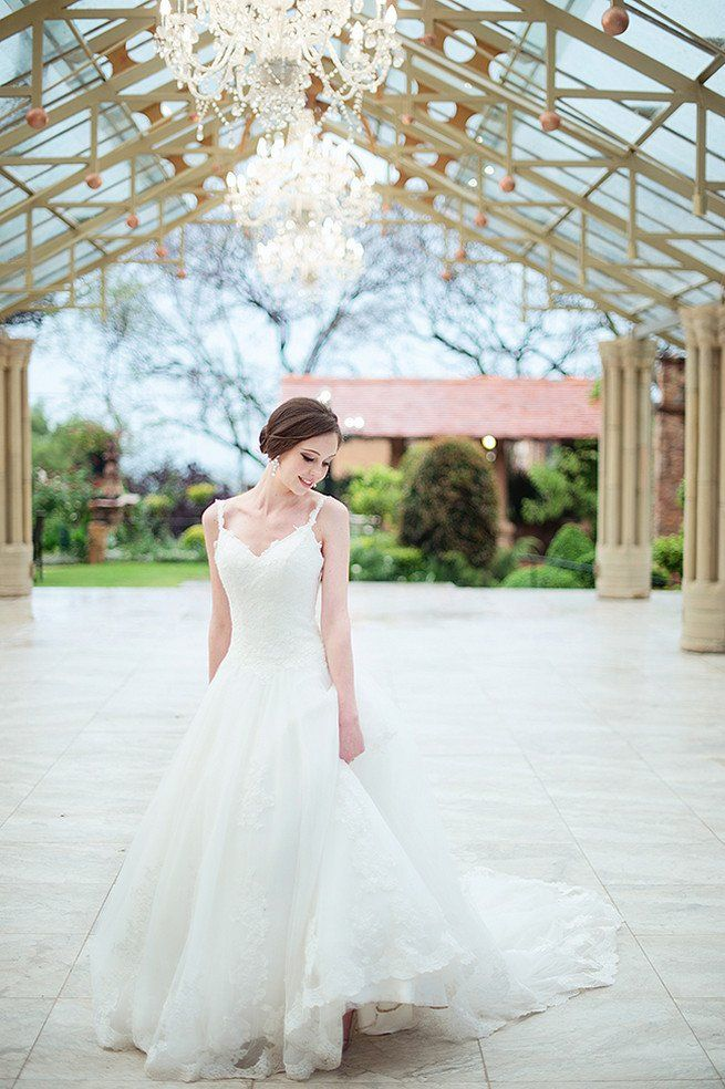 This dress! And this venue! Johannesburg Wedding Shepstone Gardens