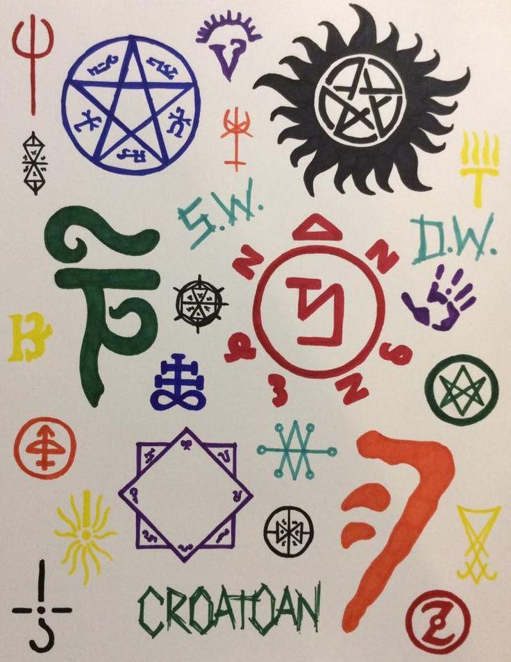Zoroastrian Symbol Supernatural 25+ best ideas about A...