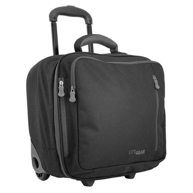 LiteGear Lightweight Hybrid Carry-on Rolling Tote - Overstock Shopping - The Best Prices on LiteGear Rolling Carry On Totes