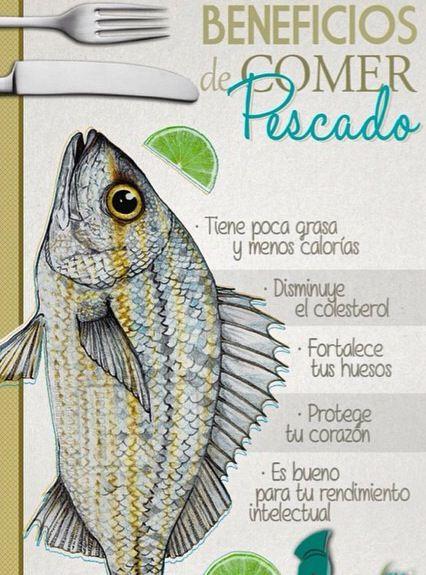 Lo bueno que es el pescado!