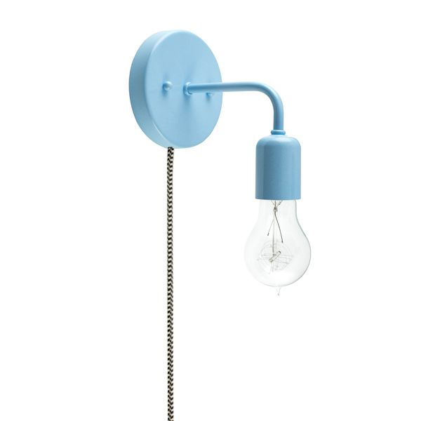Electric Wall Sconces Plug In : Downtown Minimalist Plug-In Wall Sconce Barn Light Electric Summer Pinterest Sconce ...
