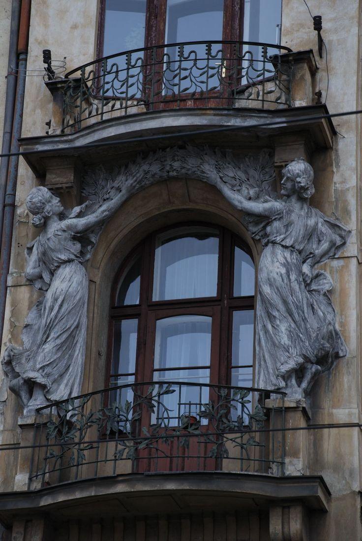 Art Nouveau window   JV