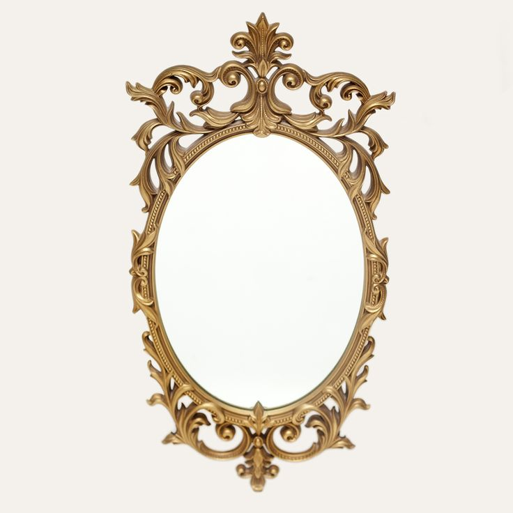 Turner gold mirror ornate gold framed mirror mirrors for Gold wall mirror