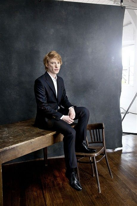 Domhnall Gleeson - I dig this photo, and the article.