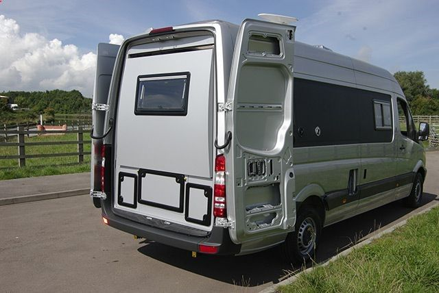 Sprinter Van Conversions | ... new motorhome with slide ...