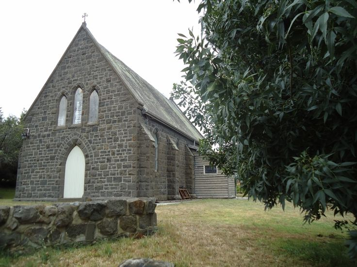 The church at Beveridge where Ned and Maggie went to school.