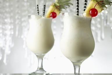 Chill Out with a Frozen Pina Colada: Blend up a frozen Pina Colada and escape to the tropics for a few minutes.