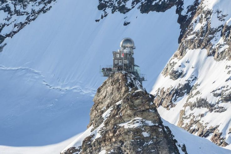 View of the Sphinx Observatory on Jungfraujoch @shutterstock