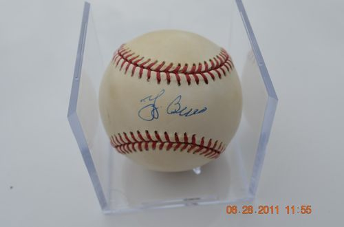 Yogi Berra Signed Autographed Ball on 24 hours left!