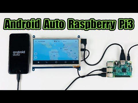 Android Auto Raspberry Pi 3 Crankshaft OpenAuto - YouTube