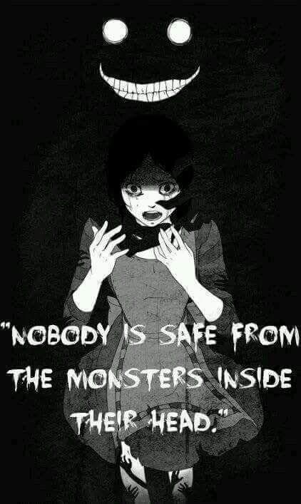 ||Nadie está a salvo del monstruo que hay en su cabeza. | Traducción ES: @sukigamer88 ||
