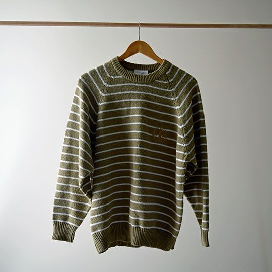 Made By Mee + Co | Light Brown Striped Jumper